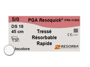 Label Resoquick 5-0 PRN31405